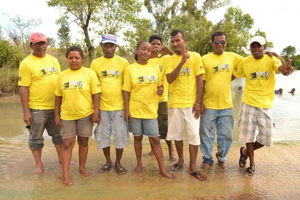 equipe de Tongava tours à Majunga